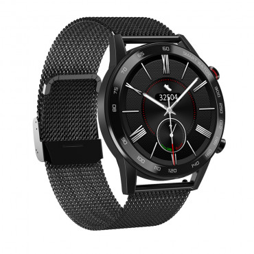 CALYBRE CALLING SMART WATCH METAL QUALITY, METAL STAINLESS CHAIN, COLOR BLACK