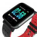 NOTE-Red Smart Watch New With Heart Rate Monitor Fitness Tracker Blood Pressure Waterproof Smartwatch