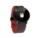 ONE-Red Round Smart Watch, Blood Pressure, Bluetooth Smartwatch, Men Women Smart Watch, Waterproof And Sports