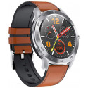 TESLA-Silver Brown Waterproof Smart Watch, Blood Pressure/Heart Rate Monitor Watch Sleep Tracker, Full Touch Screen Sport Smartwatch Fitness Bracelet