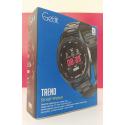 TREND-Silver Smartwatch, Metal Case Bracelet Smart Watch