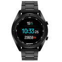 TREND-Black Smartwatch, Metal Case Bracelet Smart Watch